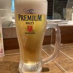 136247617 - ちょい飲みセット 生ビール