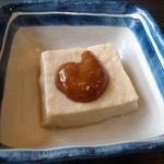 丹後屋 - 胡麻豆腐美味しかったデス!