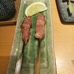 いぐさ - せせり串焼き(520円)