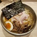 麺屋 音 別邸 - 特製鶏生姜白湯