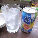 柳下酒店 - キリン 氷結 グレープフルーツ(170円)