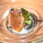 焼き鳥 とりら - ○ ムネ肉ポン酢ジュレかけ