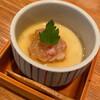 ききや - 料理写真:お通し 蟹入り茶碗蒸し