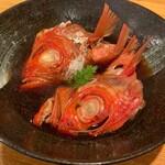 ききや - 金目鯛あら煮 1,800円