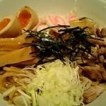三ツ矢堂製麺 - 和えそば+たまご
