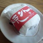 13626964 - ただの色違いの包装・・・焼きリンゴ餅赤帯バージョン