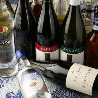 """店主セレクト""""トルコワイン"""""""