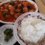 福臨 - 酢豚定食