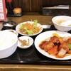 中華酒家 福籠 - 料理写真:黒豚の酢豚定食 1000円