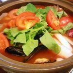 料理・仕出し 前川 - トマト鍋