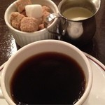 ビルボケ - 食後のコーヒー