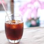 カフェ キュリアレンテ - アイスコーヒー
