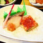 ティーケーピー カフェテリア - 【朝食ビュッフェ】日替わりのお魚、だし巻き卵やチヂミなど