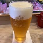 吉祥寺おすしやさん - 生ビール
