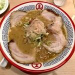 東京煮干し らーめん玉 - 肉とろりそば 1,020円