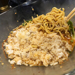 香氣 四川麺条 - 冷やし坦々麺(ライスをダイブ)