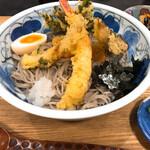 そば好きの店 岩 - 料理写真:天ぷらぶっかけそば(並)1000円也