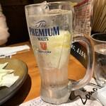 九州鳥酒 とりぞの 六本木 - 鬼!レモンサワー