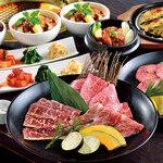 焼肉名菜 福寿 - ご予約不要!当日OKの和牛コースは全3種類♪