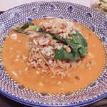 中国菜館 志苑 - 汁なし坦々麺(麺半分です)
