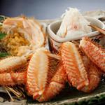 蟹工船 - 近海物の茹で活毛蟹