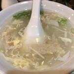 香港楼 - スープ