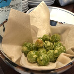 さかなのじんべえ - 揚げ銀杏390円