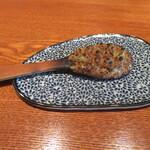 蕎・馳走 岩舟 - 「焼き味噌」