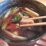 蕎・馳走 岩舟 - 地鶏が美味い