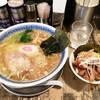 らーめん くじら軒 - 料理写真:薄口醤油ラーメン&ミニパーコー飯