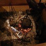 本家扇屋 - 囲炉裏