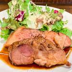 肉バル style 2 - 三元豚の生姜焼き アップ