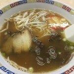 大田食堂 - 白い焼きそば有名やけど 中華そば どストライク