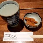 136306729 - そば焼酎 天山戸隠 蕎麦湯割り