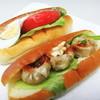 タケウチベーカリー - 料理写真:シューマイと生野菜