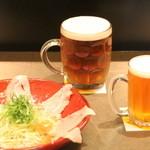 みつか坊主 - 箕面ビール&カルパッチョ