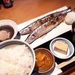 神楽坂 魚金 - 秋刀魚定食ダブル✨✨