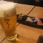 燗アガリ - エビス生ビール