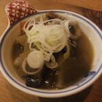 燗アガリ - 豚もつ 1人前(240円)
