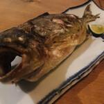 燗アガリ - 鮮魚一本売り かんぱち塩焼(1,780円)