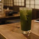 燗アガリ - 生緑茶ハイ(480円)