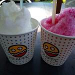 136312790 - 暑い日はやっぱりかき氷(甘酒シロップ、いちご)