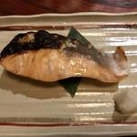 竃 - キングサーモン麹漬焼