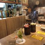 串カツとレモンサワーの店 先斗町酒場 - 店内