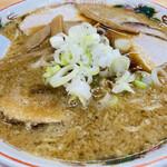 らーめんの土佐屋 - 料理写真:こってりラーメン中盛(背油ふつう、細麺)