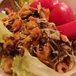 希望の星 - お茶の葉のサラダ