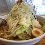 北海道らーめん小林屋 - 料理写真:札幌らーめん野菜大盛りトッピング野菜