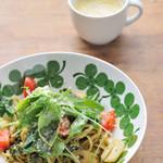 ロハスカフェARIAKE - 今週のパスタ + スープ or ドリンク