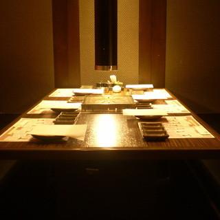 ◎最大24名様まで御宴会可能な個室のお席◎