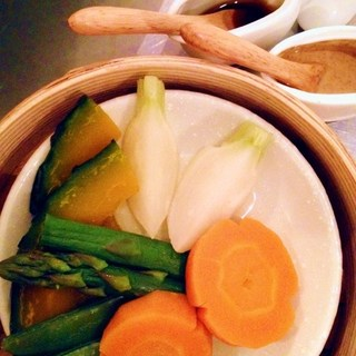 『地元の野菜』を使ったお料理がいろいろ。